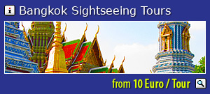 Bangkok guided tours: special offer - sightseeing tours